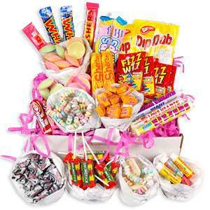 Get a free bag of Retro Sweet Mix