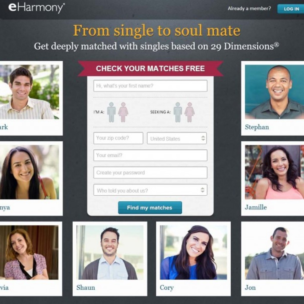 eharmony dating website reviews Using free online dating sites like oasis active, okcupid or tinder or are you paying for rsvp or eharmony don't become an online dating site scam statistic we review online dating sites to help you find love on the internet.