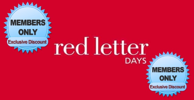 nhs discount red letter days
