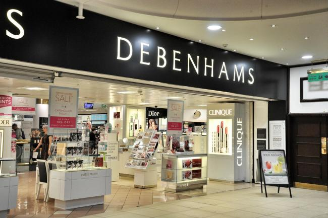 guide to debenhams and the nhs
