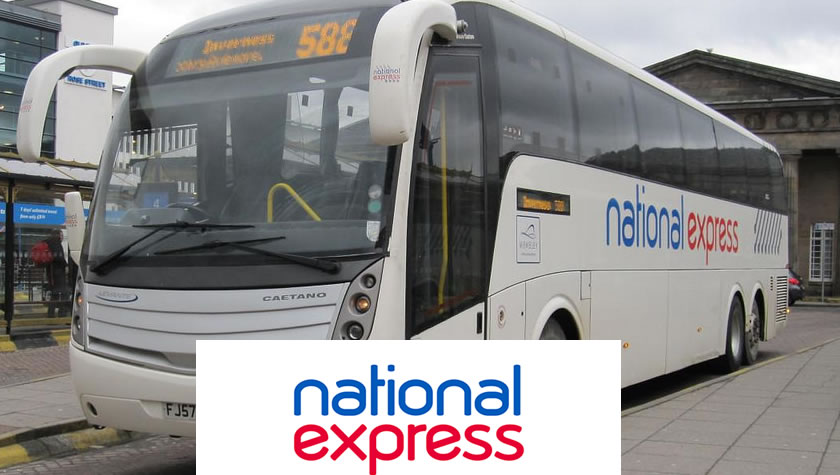 National Express coach network offers high value UK coach travel to airports, all over the UK and into Europe. Use our National Express voucher codes to save money the next time you travel. If you want fast travel solutions away from the delays of trains then National Express offer the perfect solution.