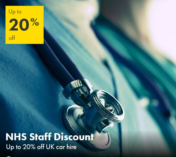 europcar nhs discount for nhs