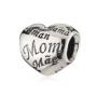 Pandora Heart 'MUM' Charm Bead